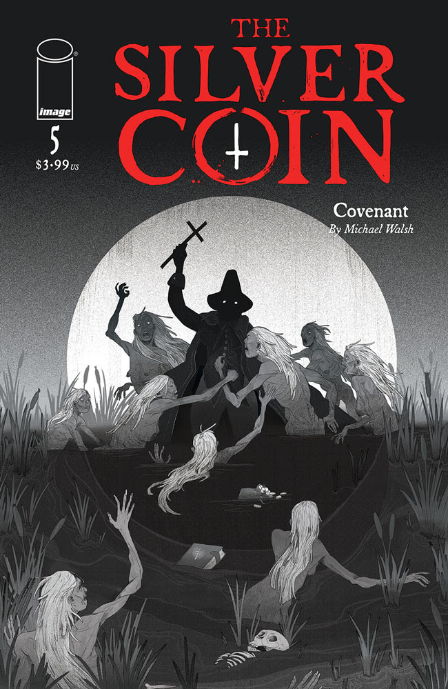 The Silver Coin #5 - Cover B