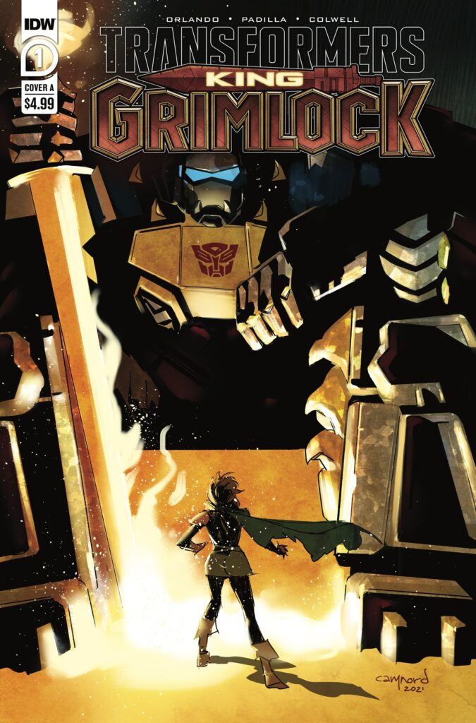 Transformers: King Grimlock #1 - Cover A