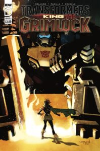 Transformers: King Grimlock - Cover A