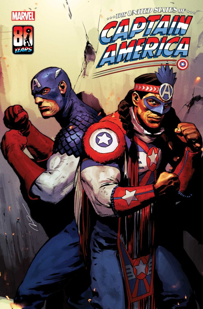 UNITED STATES OF CAPTAIN AMERICA #3 - Main Cover
