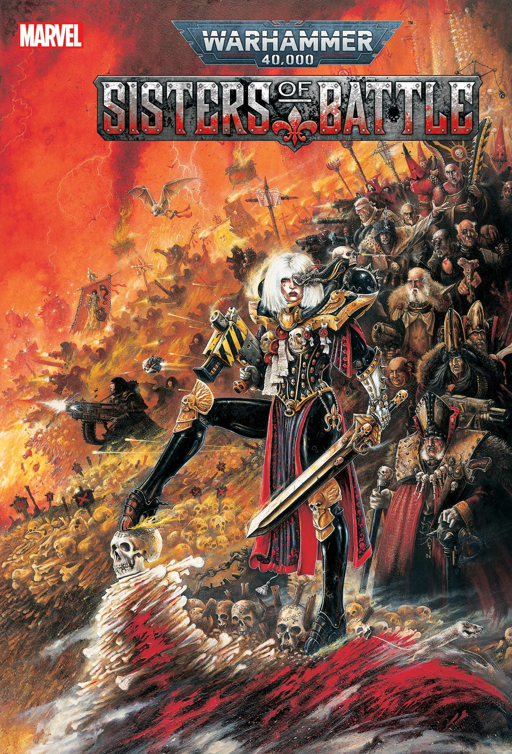 WARHAMMER 40,000: SISTERS OF BATTLE #1 - Variant Cover