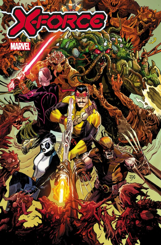 X-FORCE #22 - Main Cover