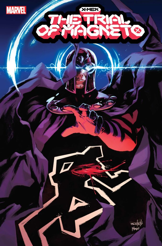 X-MEN: THE TRIAL OF MAGNETO #1 - Main Cover