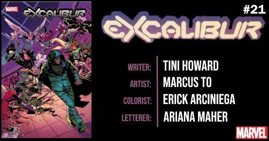 EXCALIBUR #21 preview feature