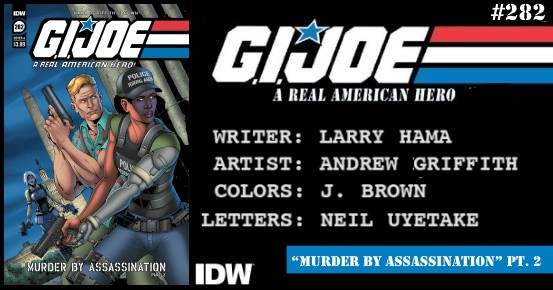 G.I. JOE A Real American Hero #282 preview feature