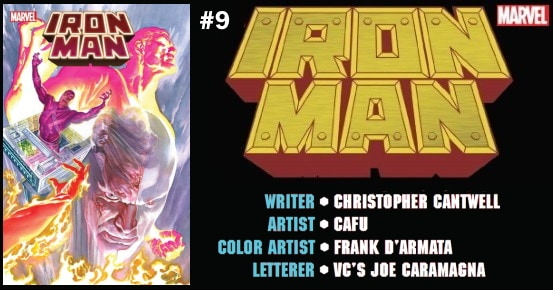 IRON MAN #9 preview feature