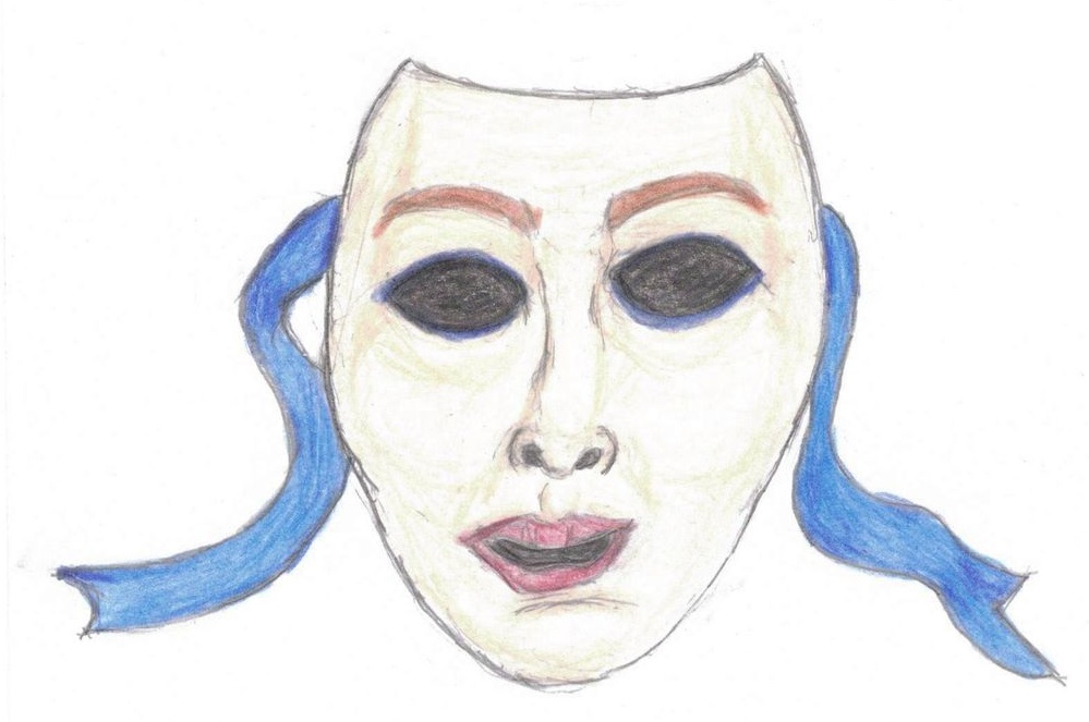 mask of faces