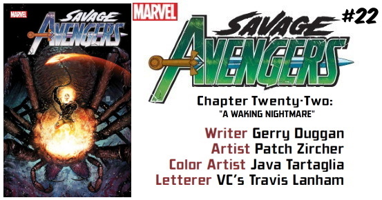 SAVAGE AVENGERS #22 preview feature
