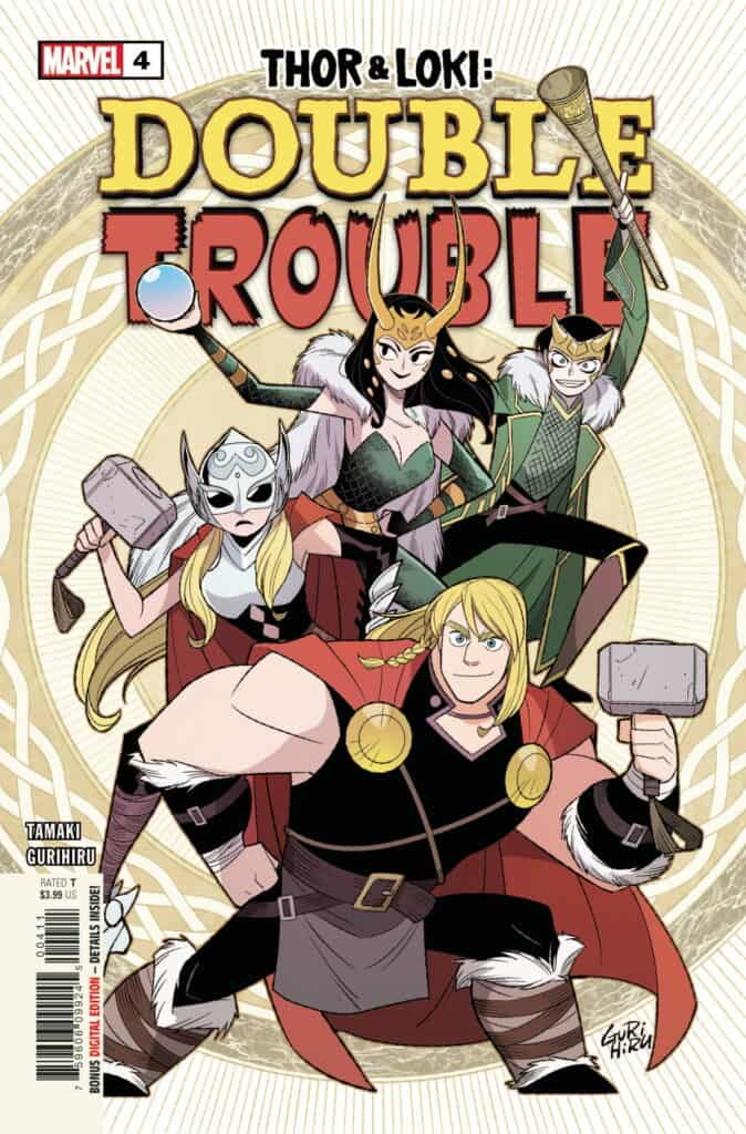 THOR AND LOKI Double Trouble #4 cover