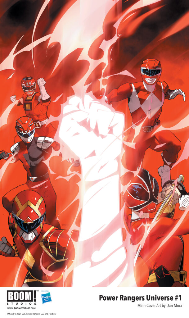 POWER RANGERS UNIVERSE #1 - Cover A