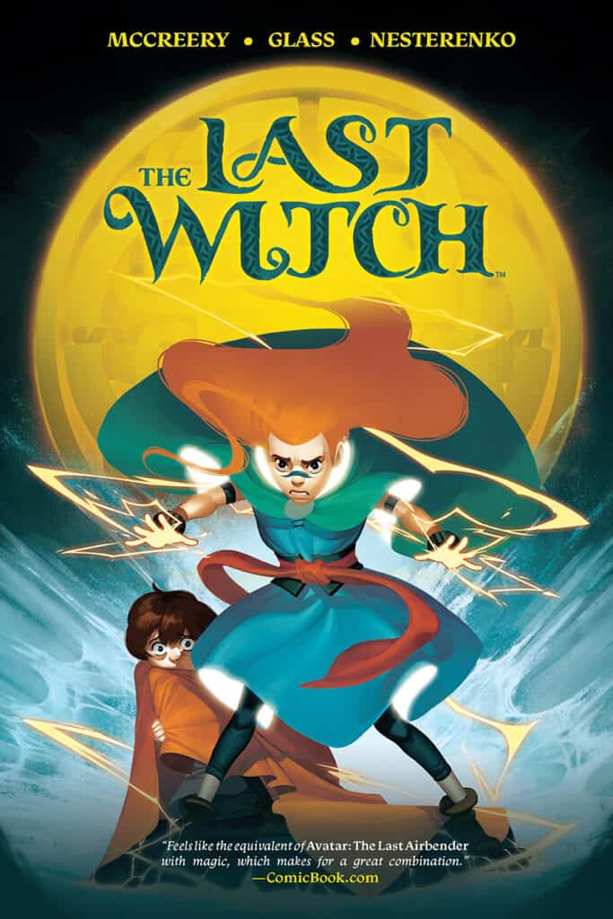 THE LAST WITCH TPB cover